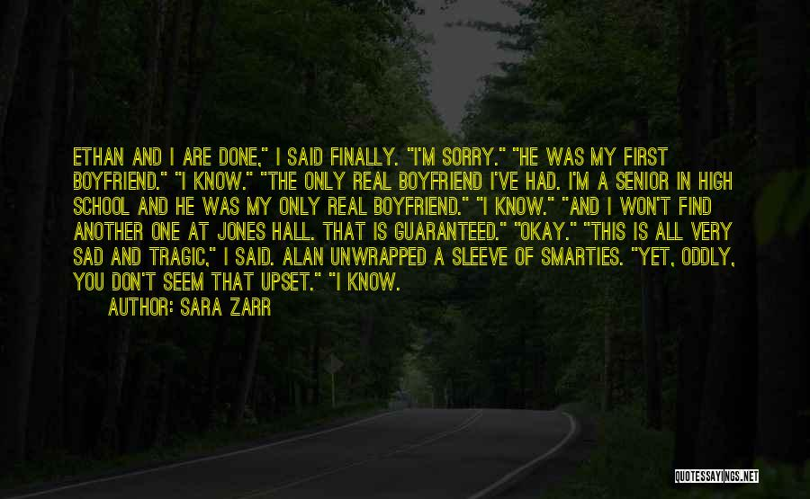Finally Find You Quotes By Sara Zarr