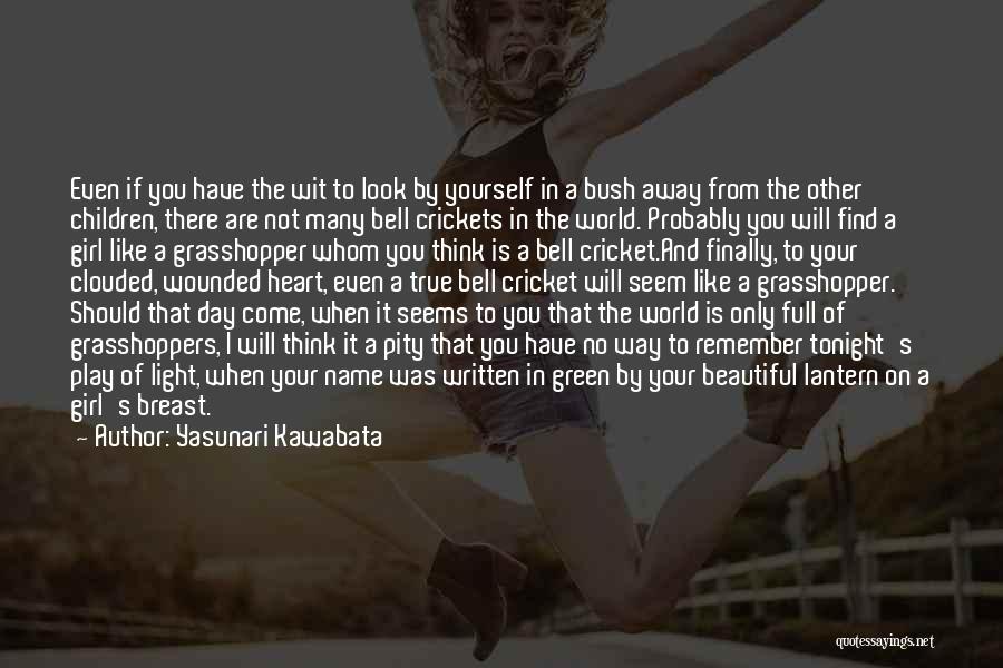 Finally Find You Quotes By Yasunari Kawabata