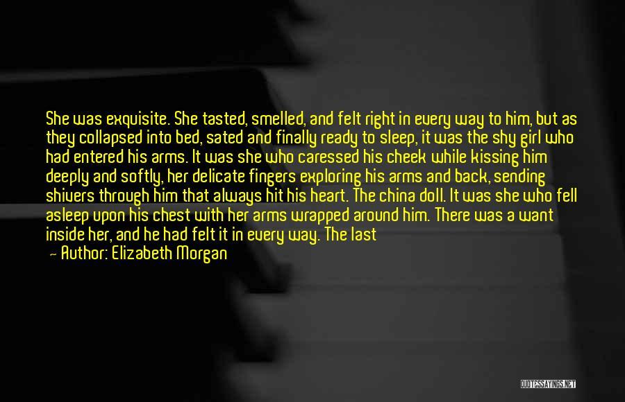 Finally Ready To Let Go Quotes By Elizabeth Morgan