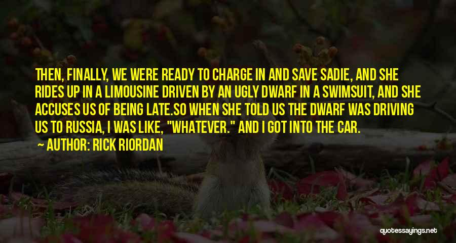 Finally Ready To Let Go Quotes By Rick Riordan