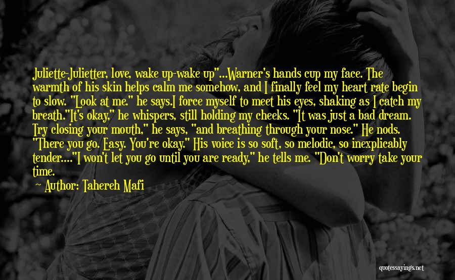 Finally Ready To Let Go Quotes By Tahereh Mafi
