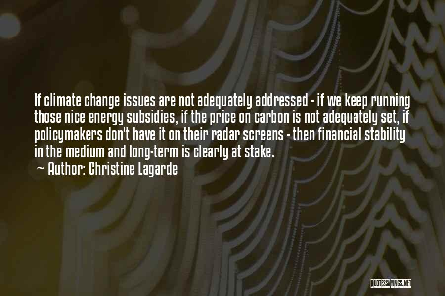 Financial Stability Quotes By Christine Lagarde