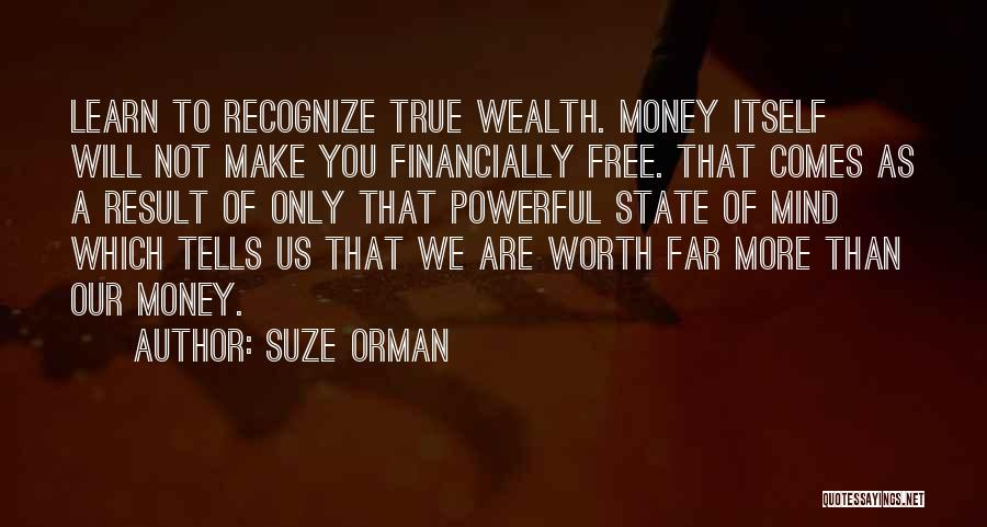 Financially Free Quotes By Suze Orman