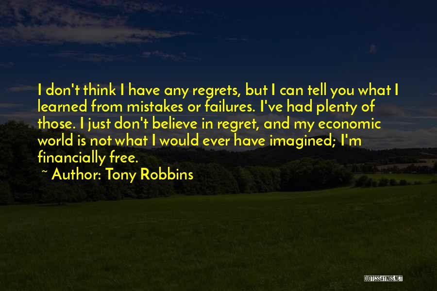 Financially Free Quotes By Tony Robbins