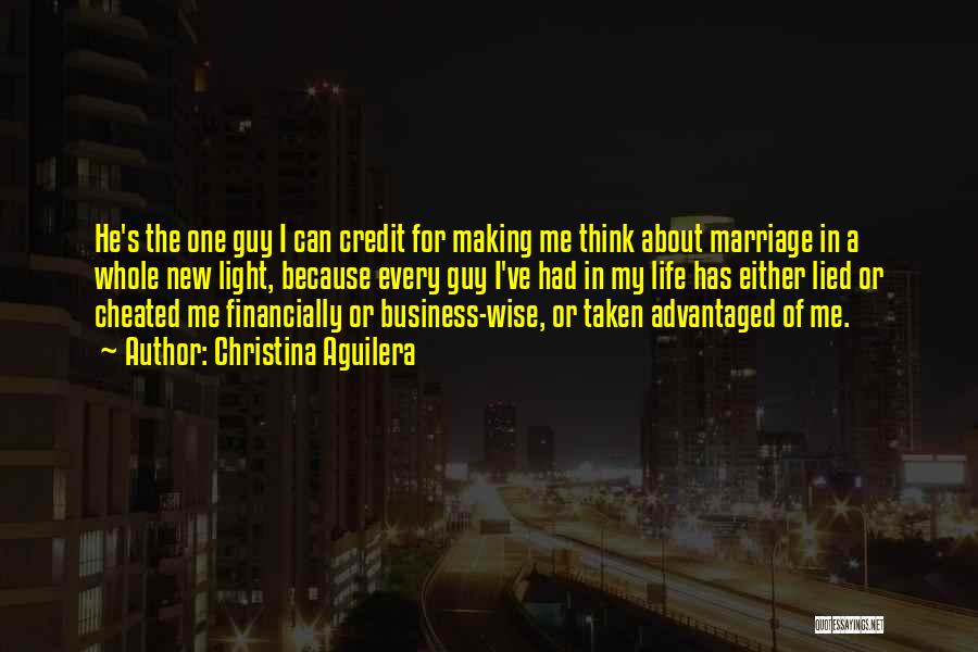 Financially Wise Quotes By Christina Aguilera