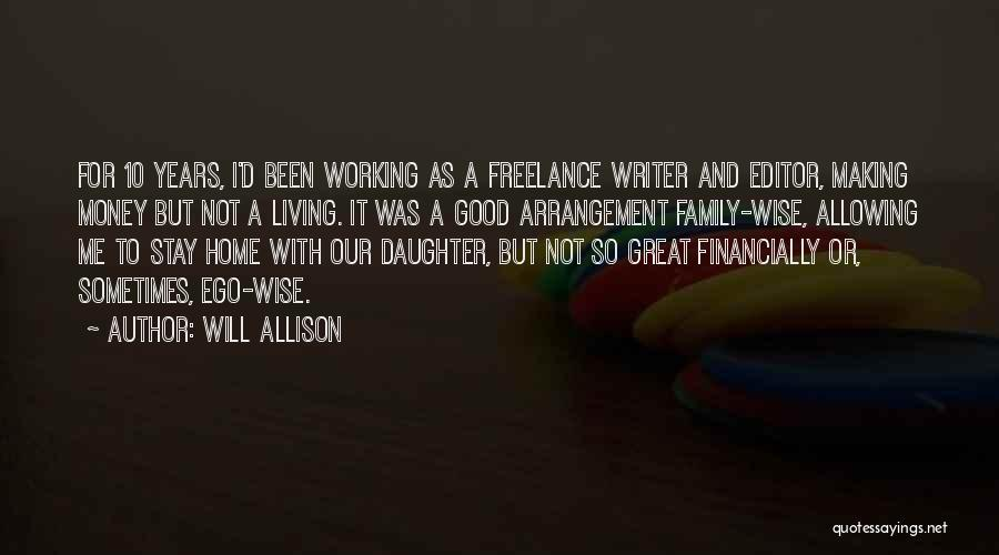 Financially Wise Quotes By Will Allison