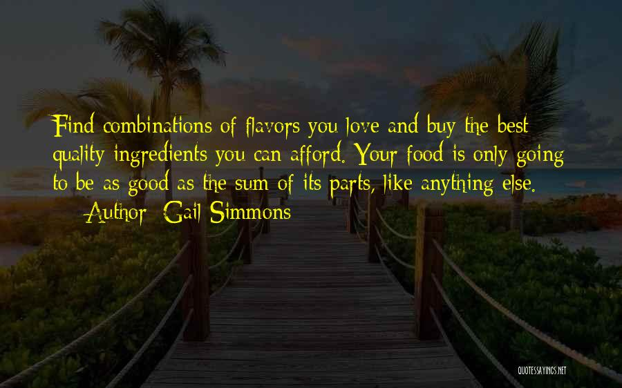 Find Good Love Quotes By Gail Simmons