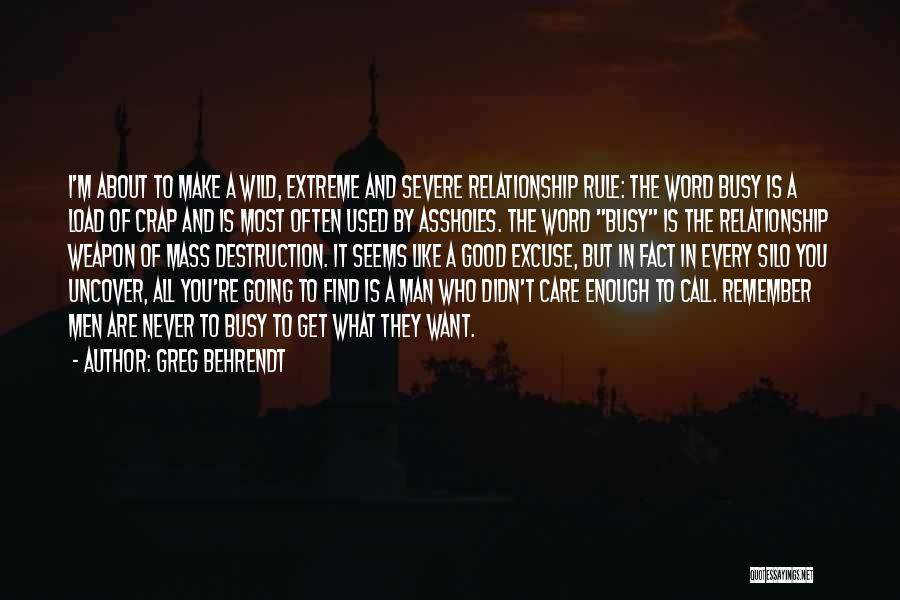 Find Good Love Quotes By Greg Behrendt