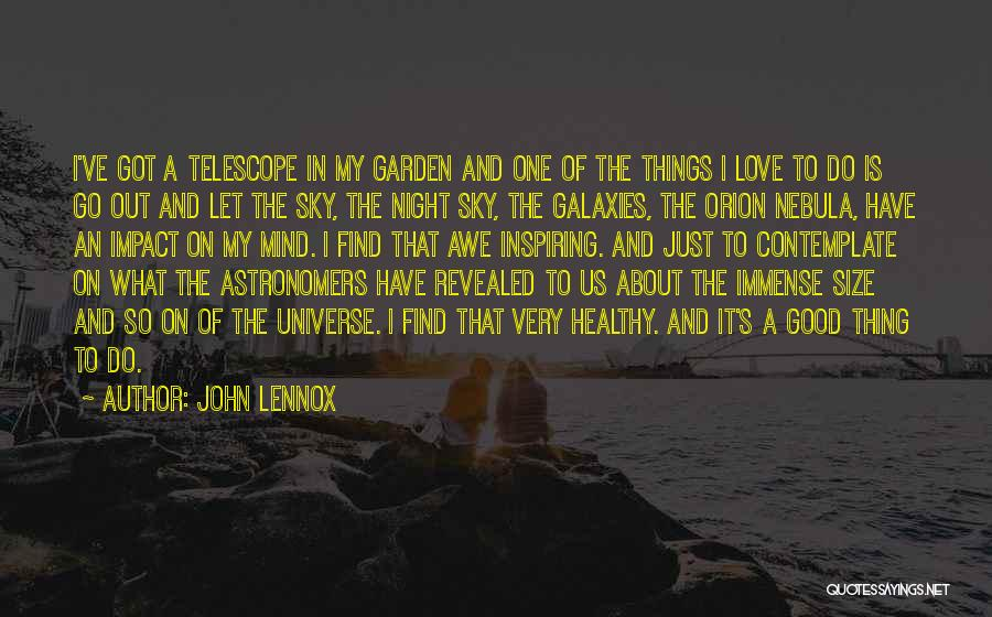 Find Good Love Quotes By John Lennox