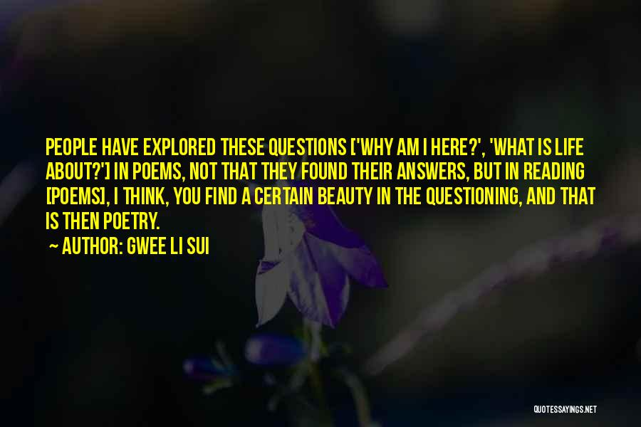 Find The Beauty Quotes By Gwee Li Sui
