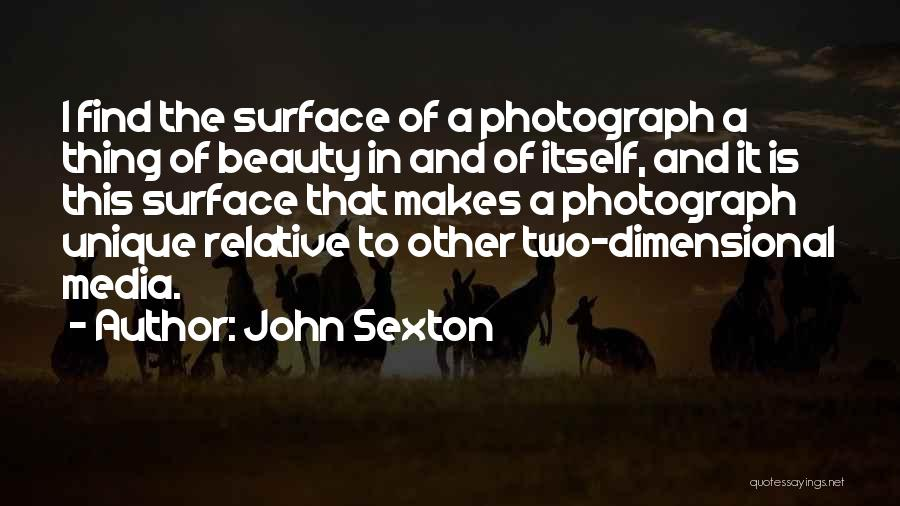 Find The Beauty Quotes By John Sexton