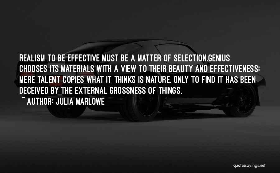 Find The Beauty Quotes By Julia Marlowe
