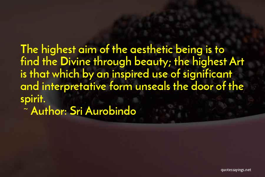 Find The Beauty Quotes By Sri Aurobindo
