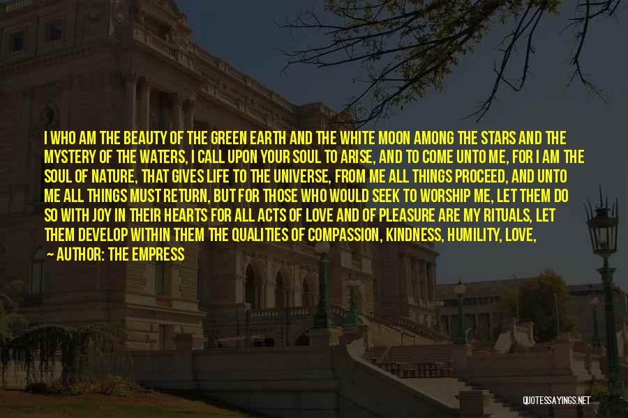 Find The Beauty Quotes By The Empress