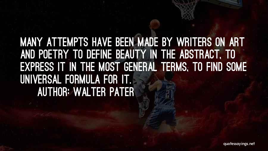 Find The Beauty Quotes By Walter Pater