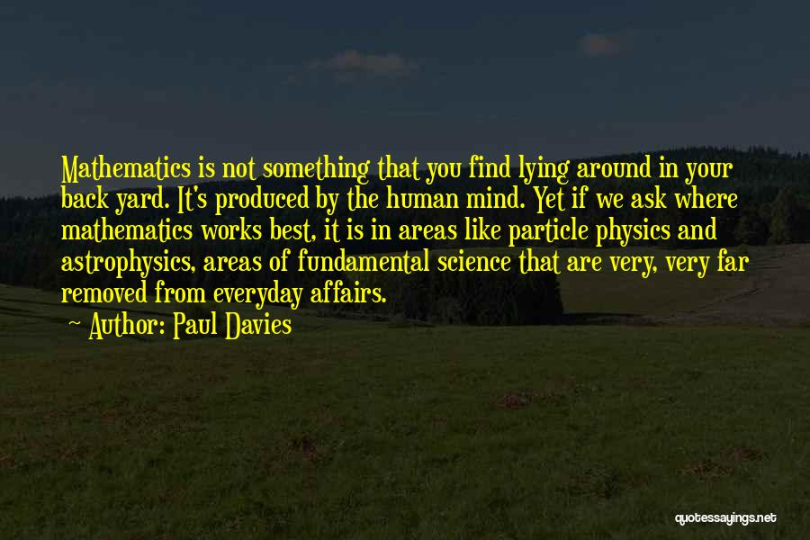 Find The Best In You Quotes By Paul Davies