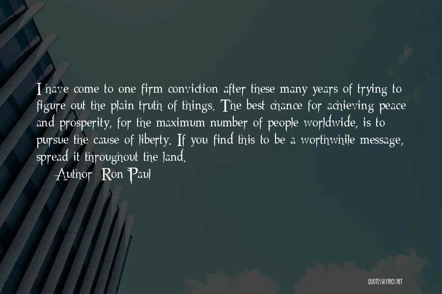Find The Best Quotes By Ron Paul