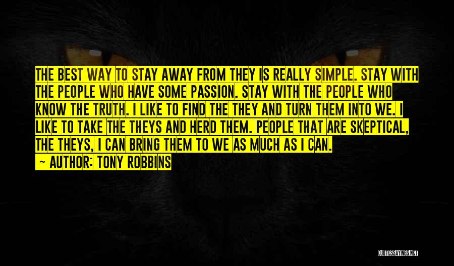 Find The Best Quotes By Tony Robbins