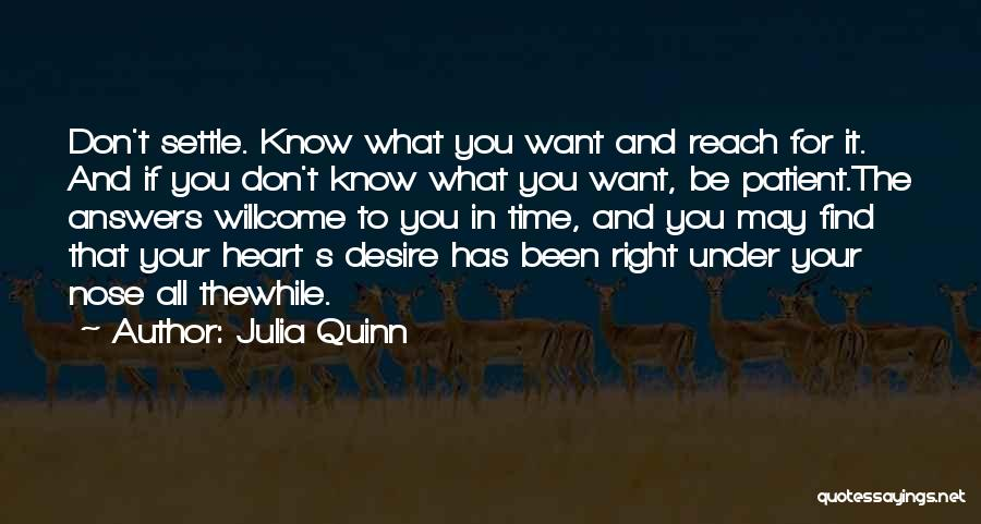 Find The Right Love Quotes By Julia Quinn