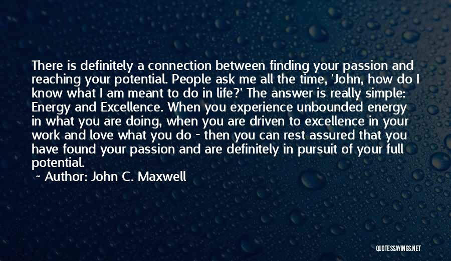 Finding An Answer Quotes By John C. Maxwell