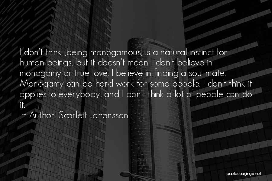 Finding It Hard To Believe Quotes By Scarlett Johansson