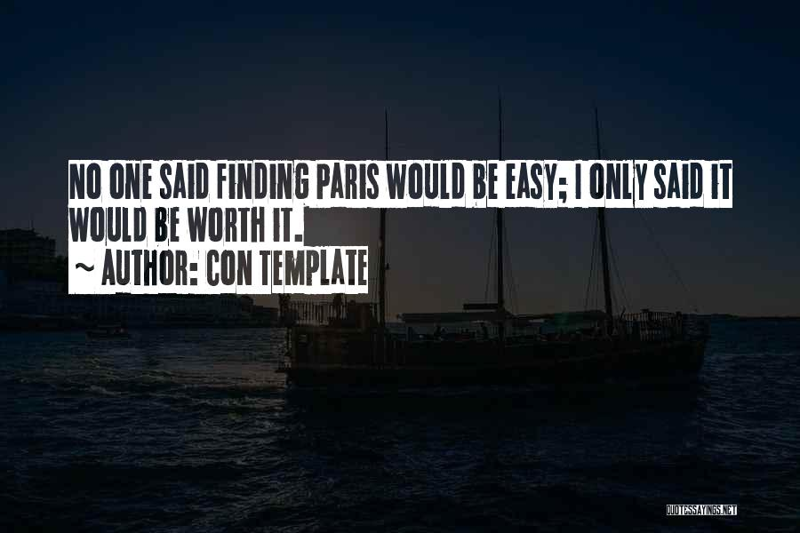 Finding Love Quotes By Con Template