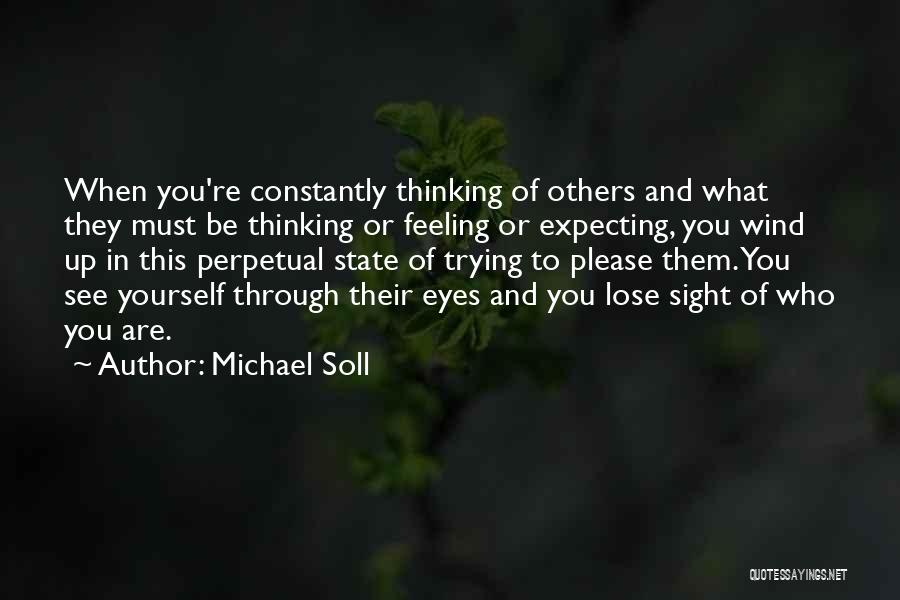 Finding Love Quotes By Michael Soll