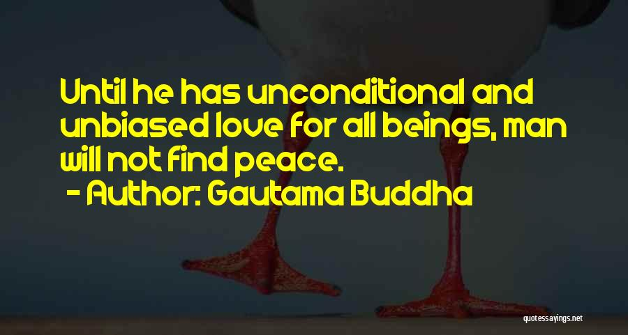 Finding Peace Quotes By Gautama Buddha