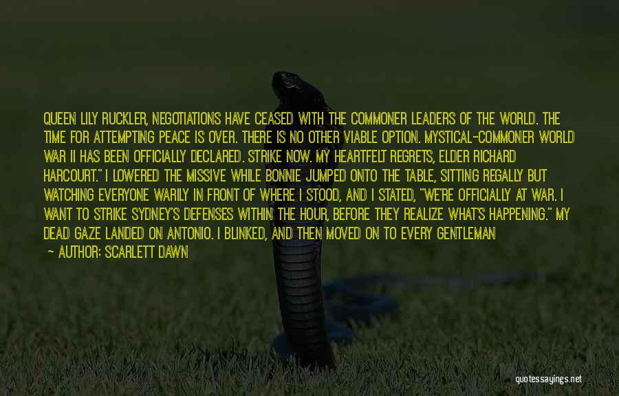 Finding Peace Quotes By Scarlett Dawn