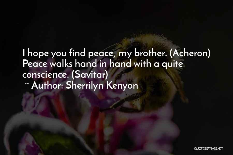 Finding Peace Quotes By Sherrilyn Kenyon