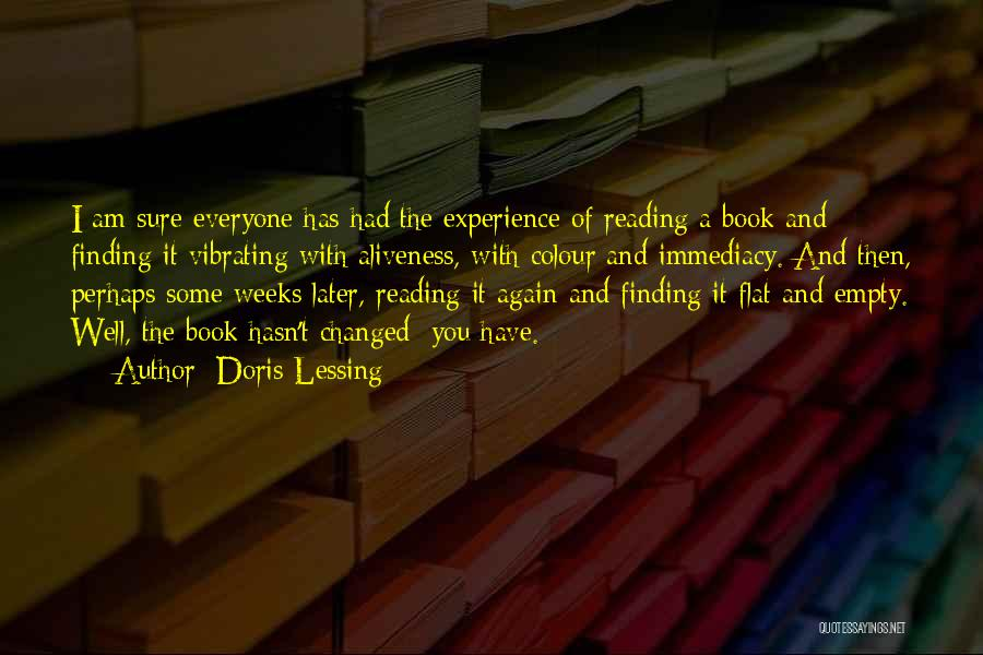 Finding Someone Again Quotes By Doris Lessing