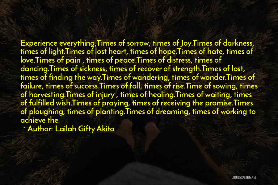 Finding Strength In Pain Quotes By Lailah Gifty Akita