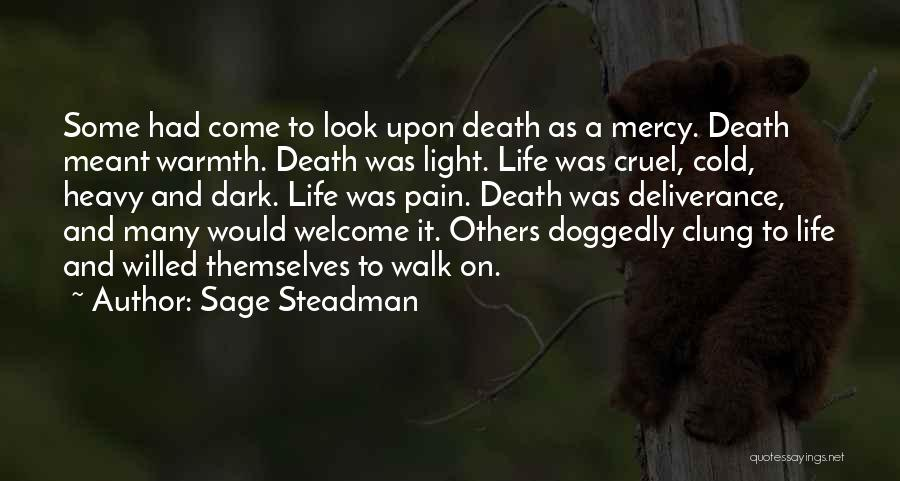 Finding The Strength To Let Go Quotes By Sage Steadman