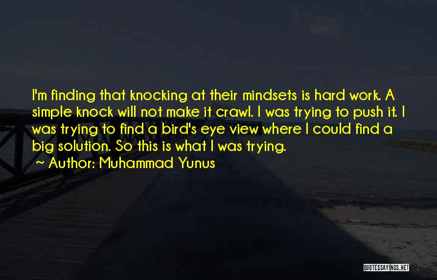 Finding Things Out The Hard Way Quotes By Muhammad Yunus