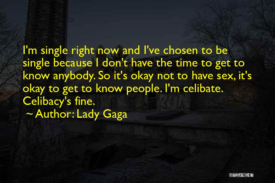 Fine Lady Quotes By Lady Gaga