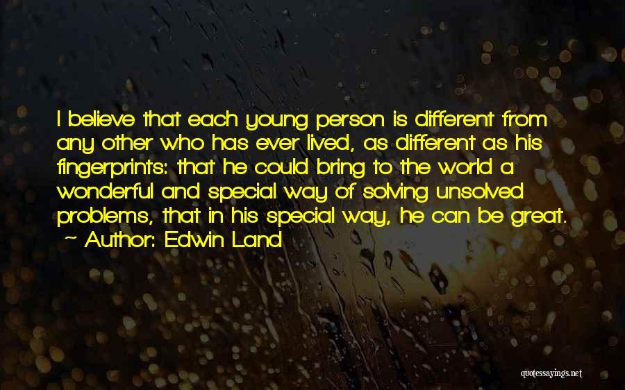 Fingerprints Quotes By Edwin Land