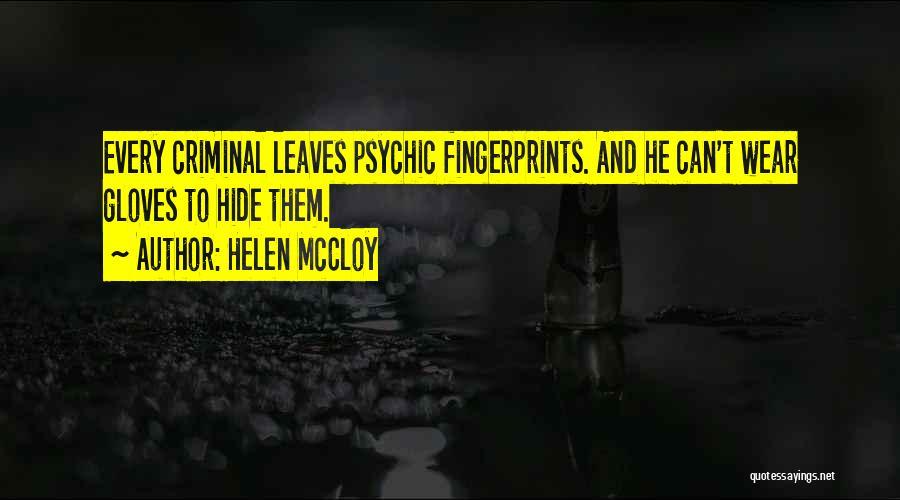 Fingerprints Quotes By Helen McCloy
