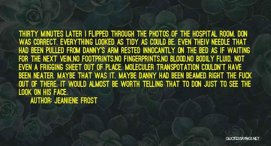 Fingerprints Quotes By Jeaniene Frost
