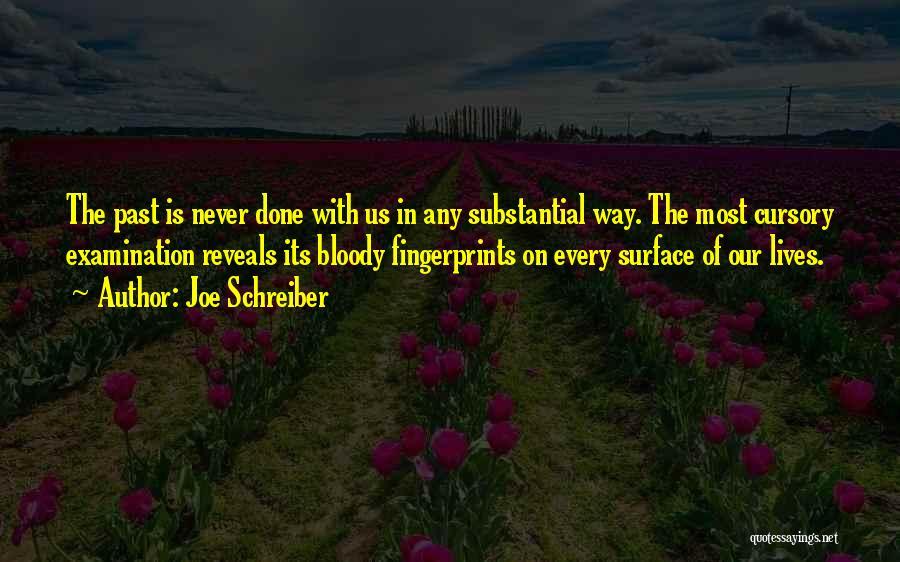 Fingerprints Quotes By Joe Schreiber