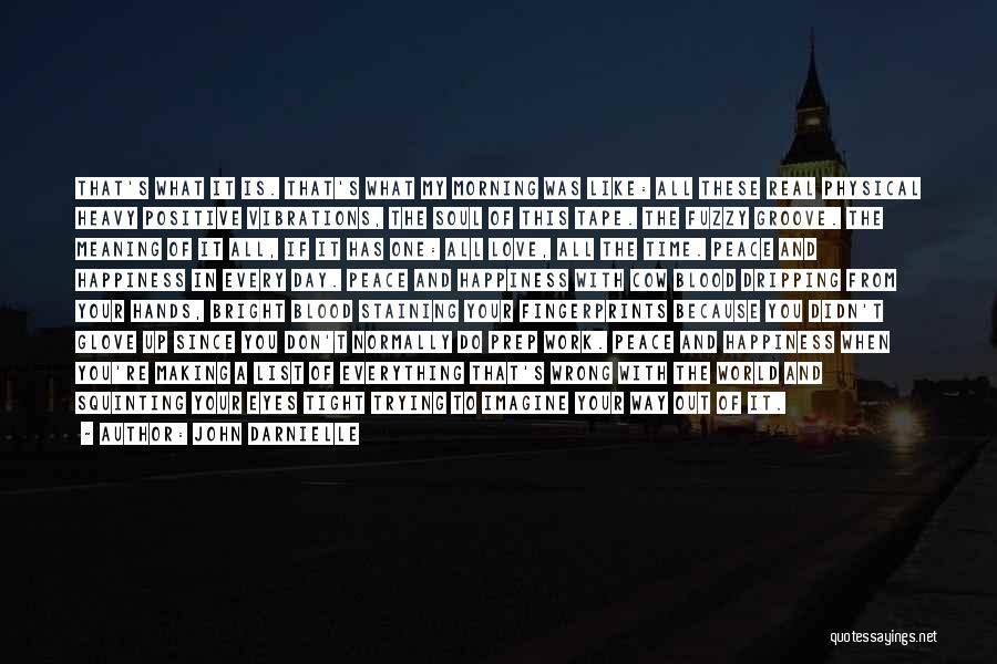 Fingerprints Quotes By John Darnielle