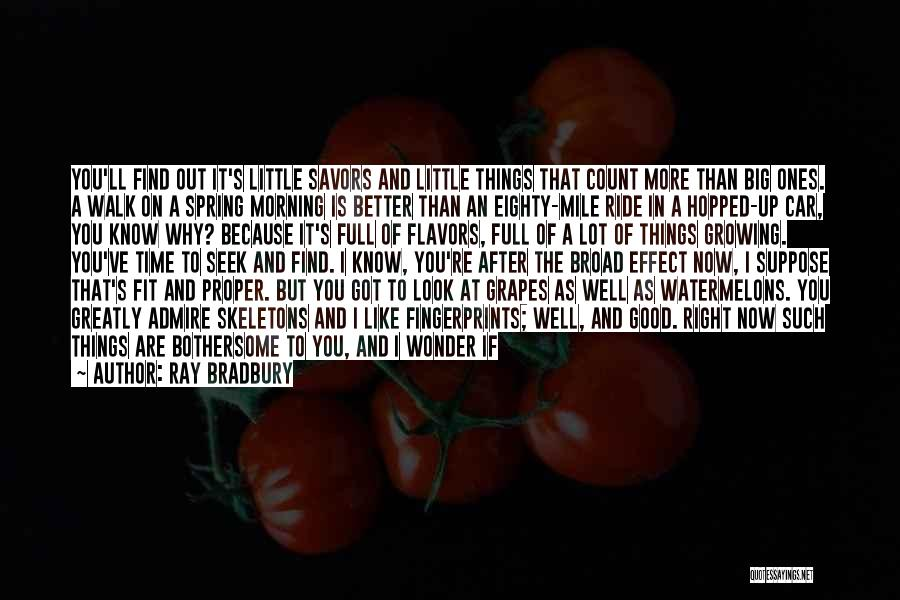 Fingerprints Quotes By Ray Bradbury