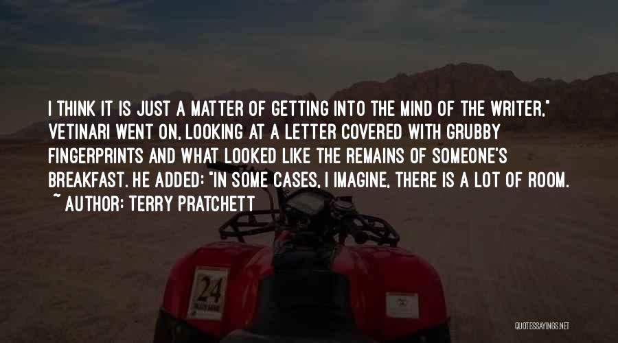 Fingerprints Quotes By Terry Pratchett