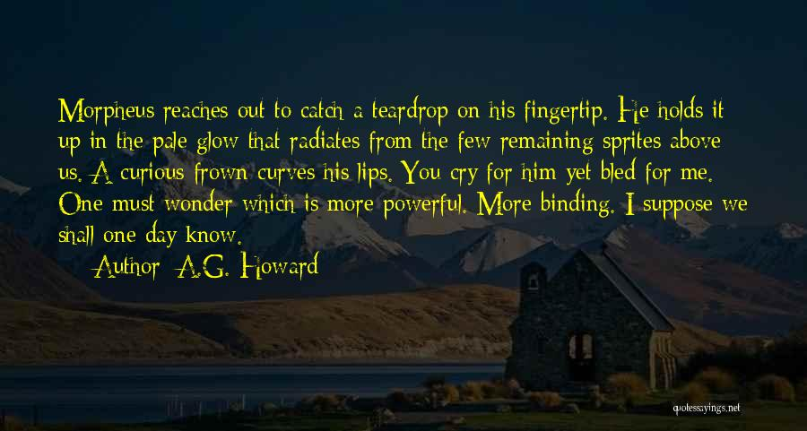Fingertip Quotes By A.G. Howard