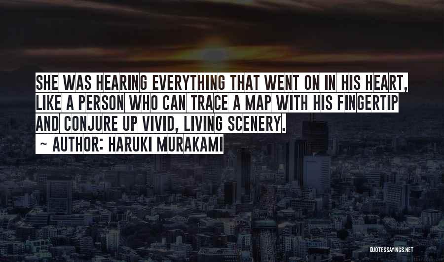 Fingertip Quotes By Haruki Murakami