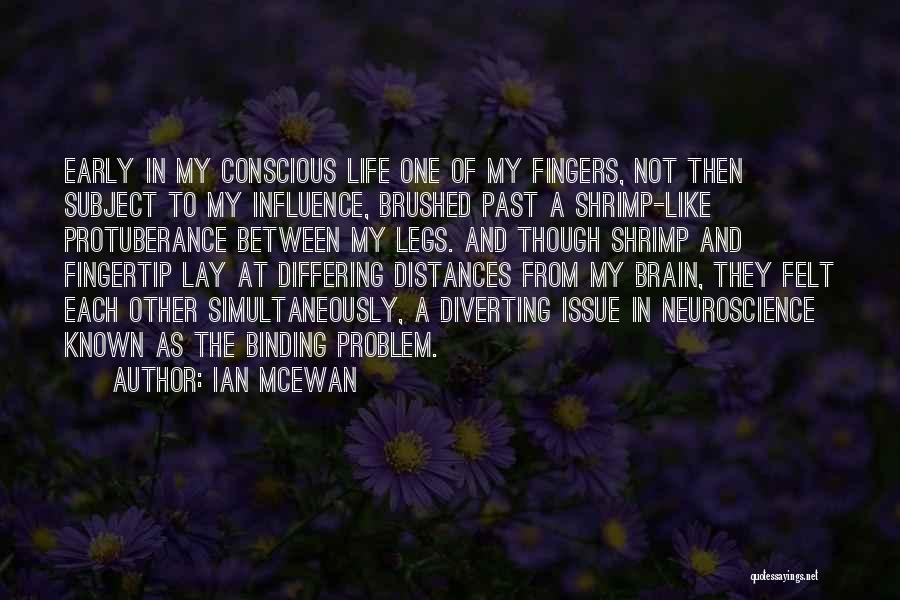 Fingertip Quotes By Ian McEwan