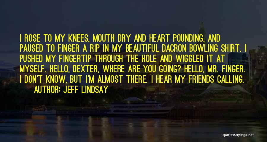 Fingertip Quotes By Jeff Lindsay