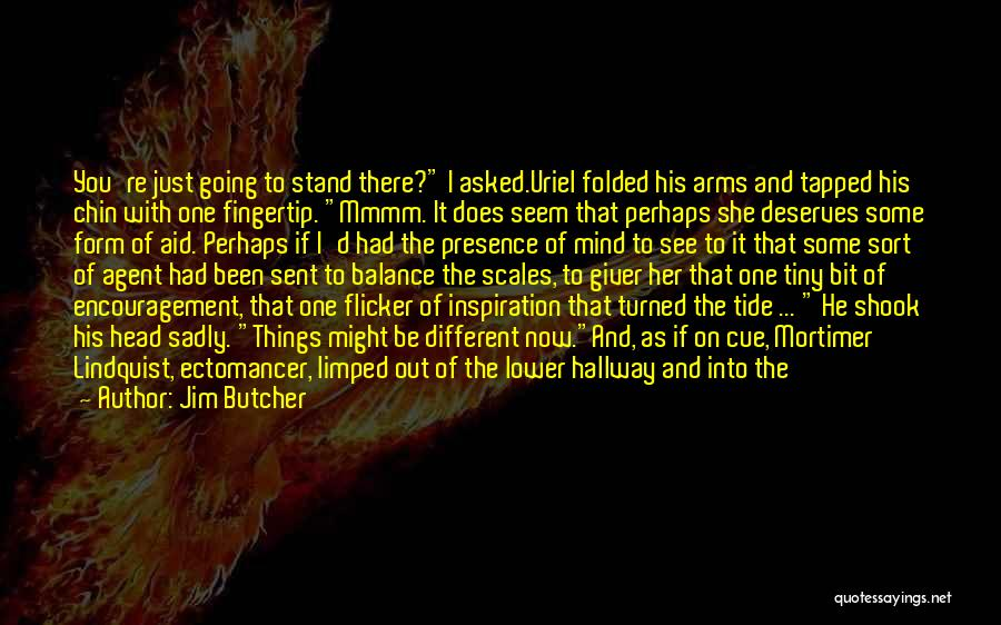 Fingertip Quotes By Jim Butcher