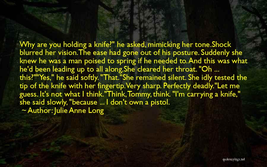 Fingertip Quotes By Julie Anne Long