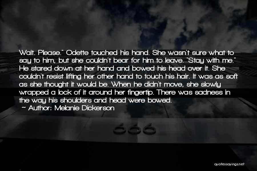 Fingertip Quotes By Melanie Dickerson