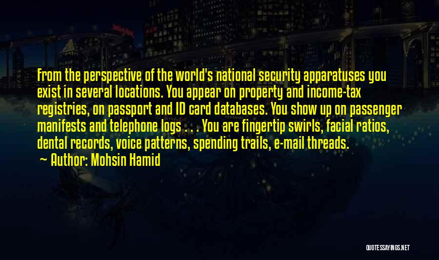 Fingertip Quotes By Mohsin Hamid